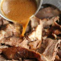 Lamb Shoulder with Gravy