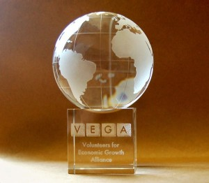Volunteer Impact Service Award (2011)