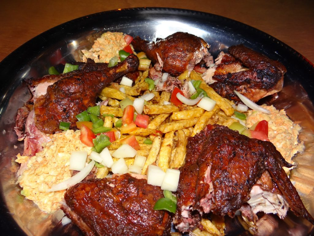 Barbeque chicken Bamako