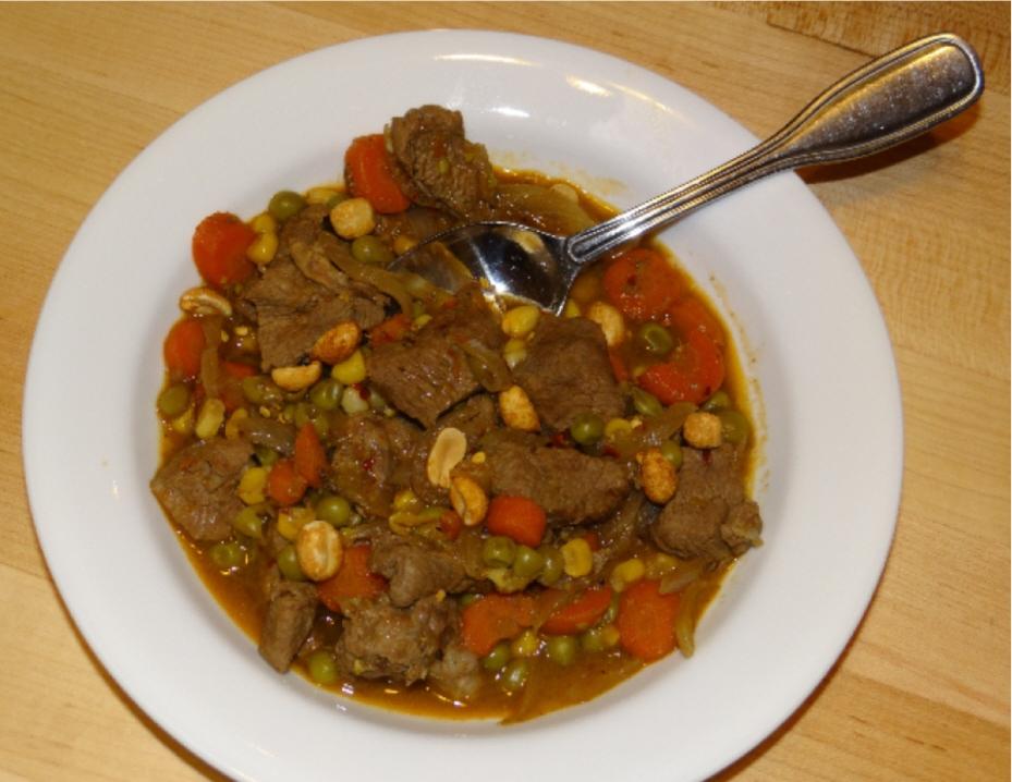 Lamb Stew with peanuts