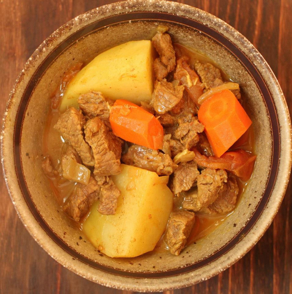 Jamaican Goat Meat Curry