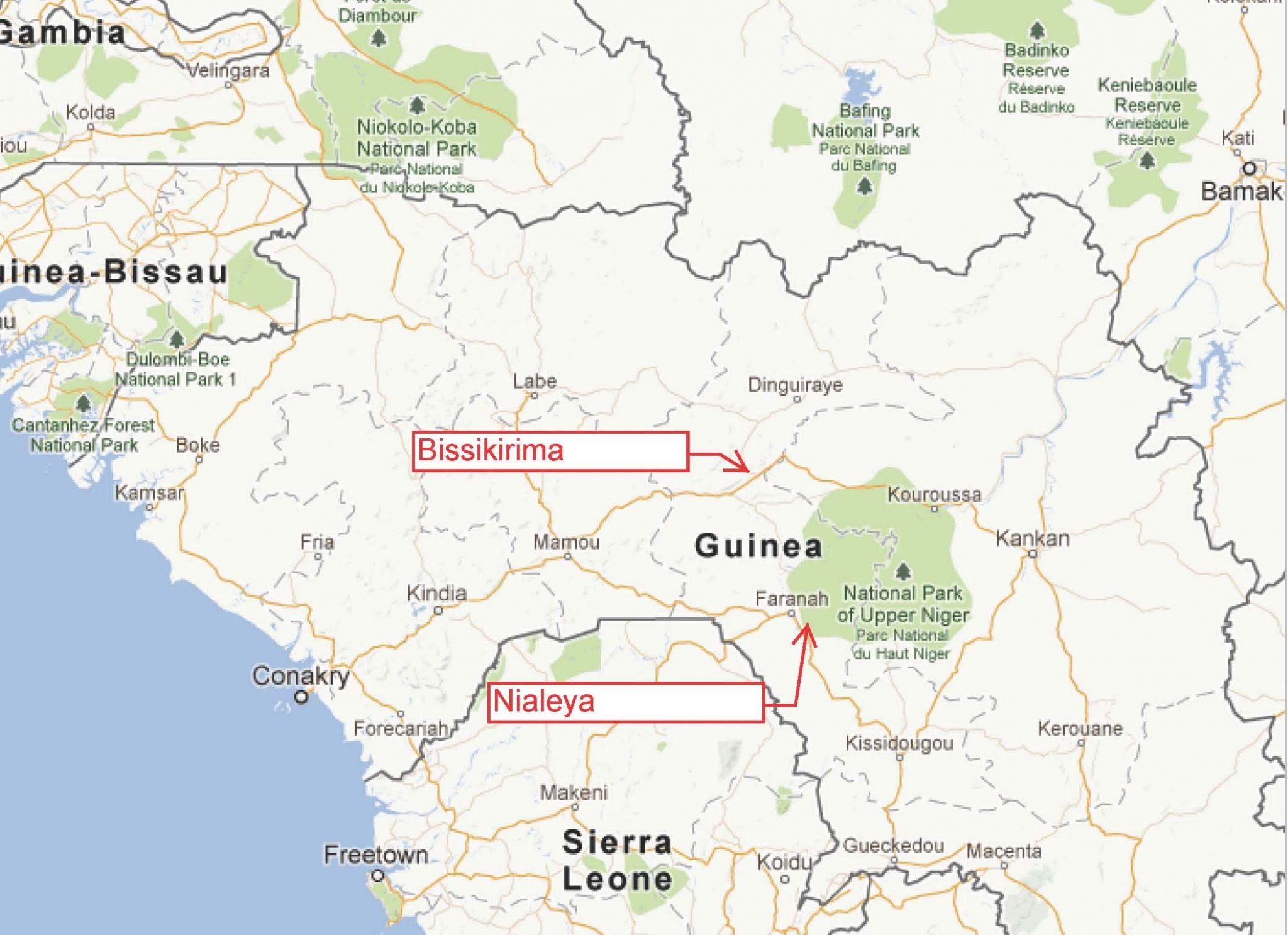 Villages of Bissikirima and Nialeya