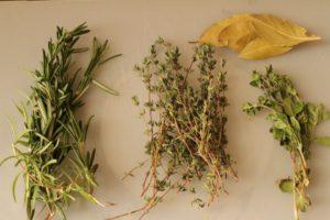 Fresh Spice Sprigs (photo by customer)