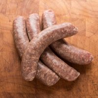 Grass fed 100% lamb bratwurst