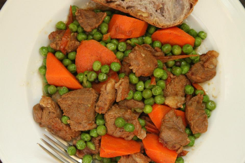 Lebanese Goat Meat Stew