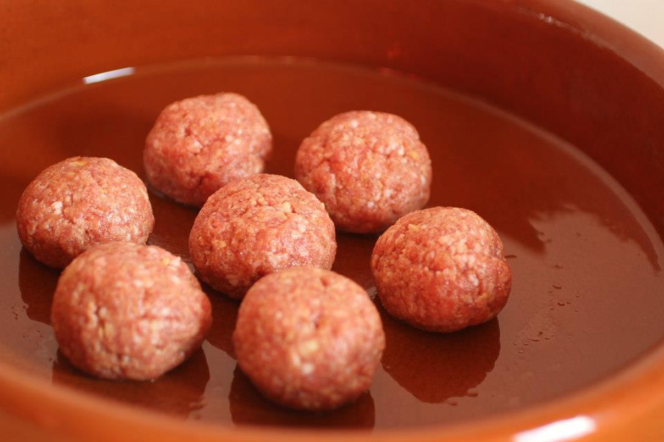 Lamb Albondigas (Spanish Meatballs)