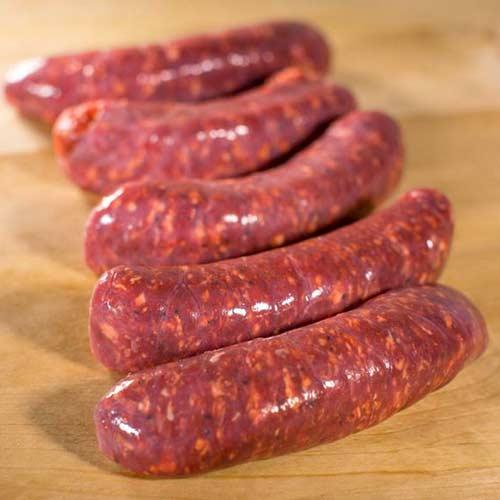 Lamb Bratwurst Dinner Sausage