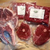 Lamb and Goat Meat package