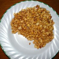 Groundnuts ready to eat