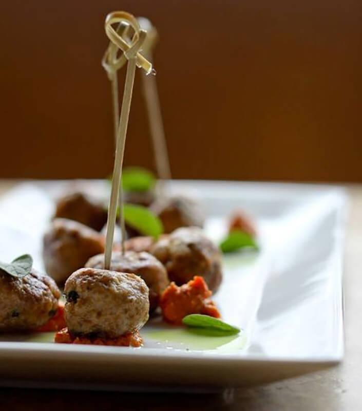 Lamb Albondigas Meat Balls