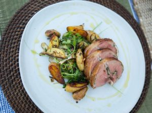 Grilled Loin Roast