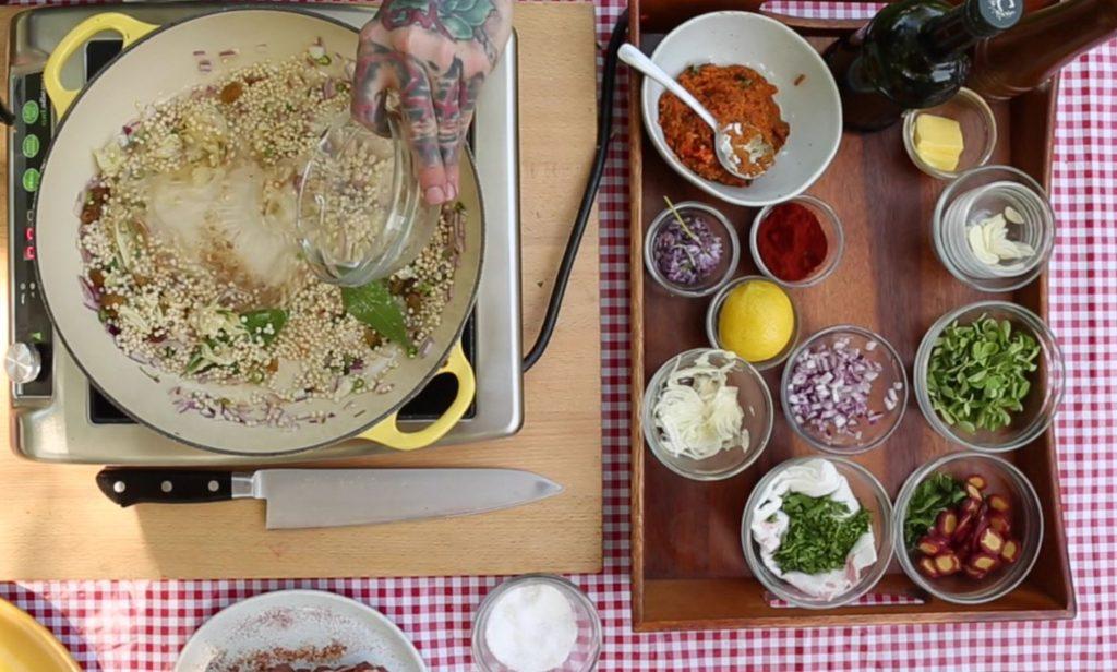 Couscous preparation