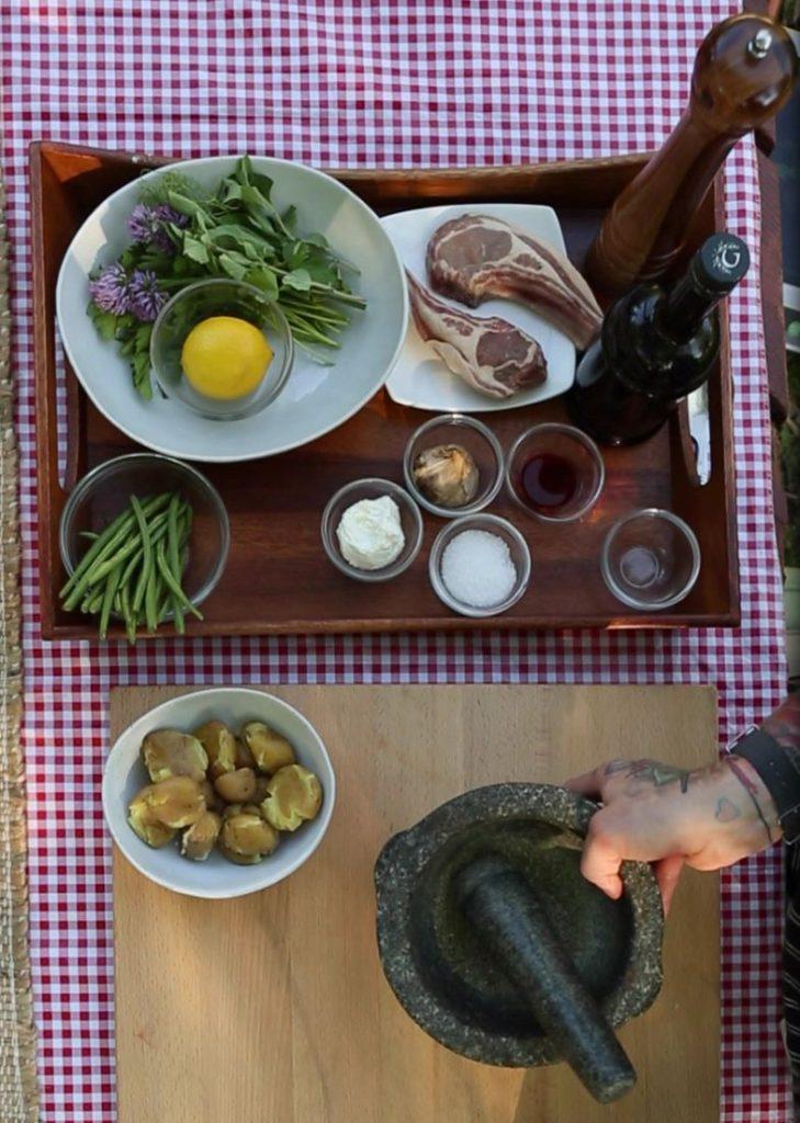 Goat Rib Chop Ingredients