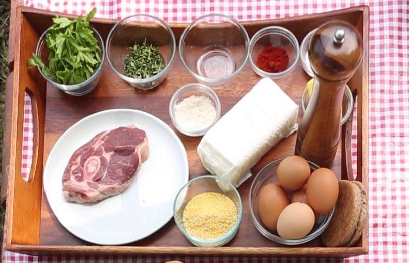Crispy Goat Leg Steak Ingredients