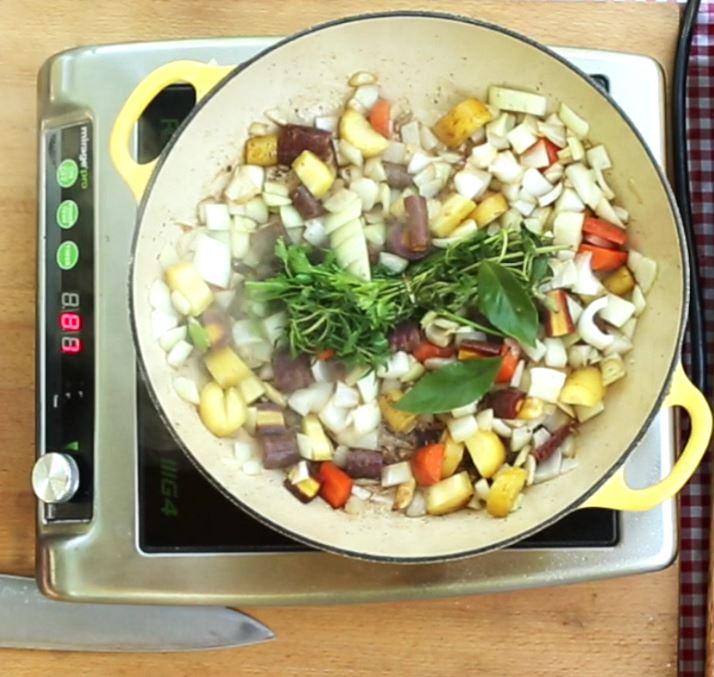 Goat stew ingredients