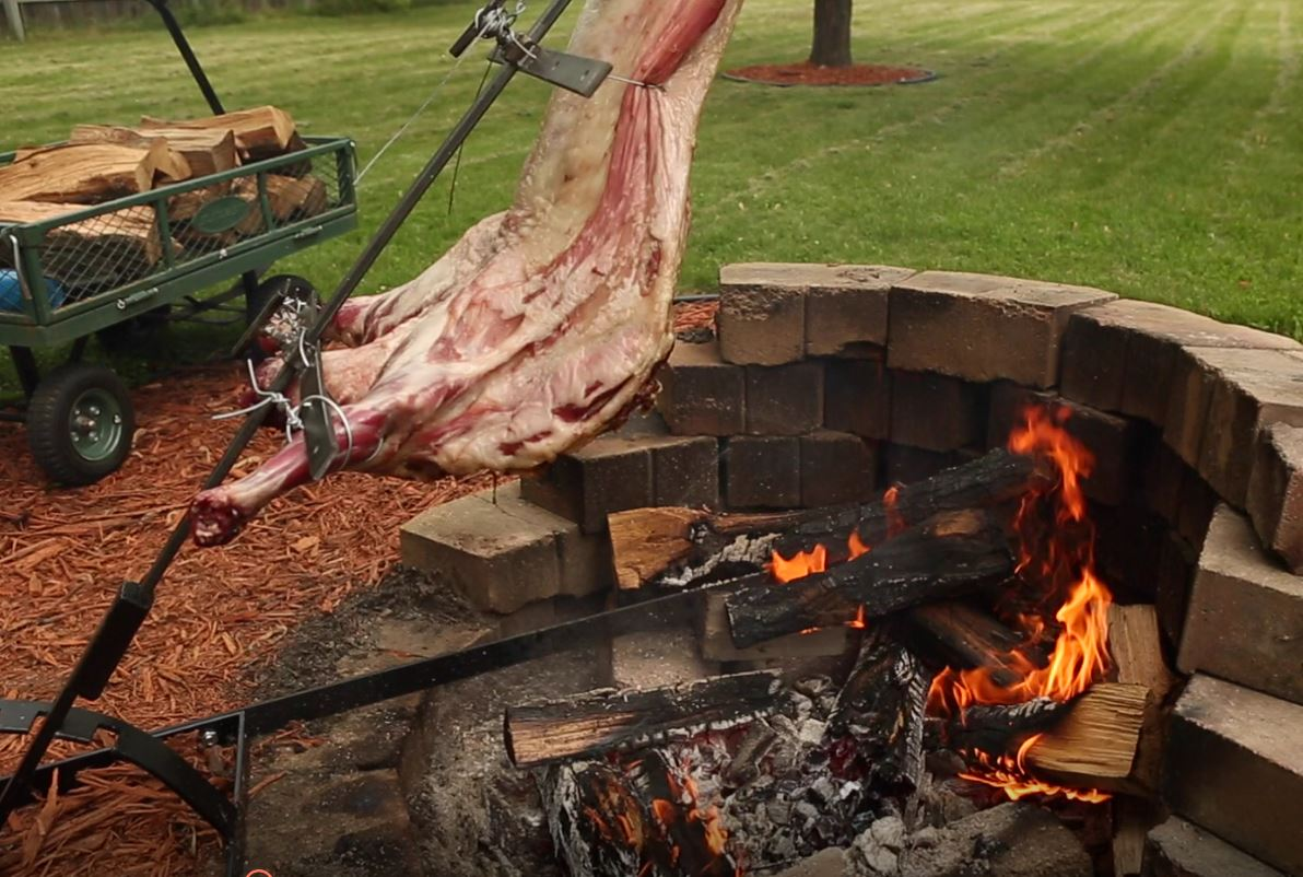 Whole Lamb Al Asado | Shepherd Song Farm | Shepherd Song Farm for Whole Lamb Grill  126eri