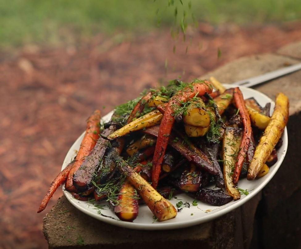 Fire Pit Carrots