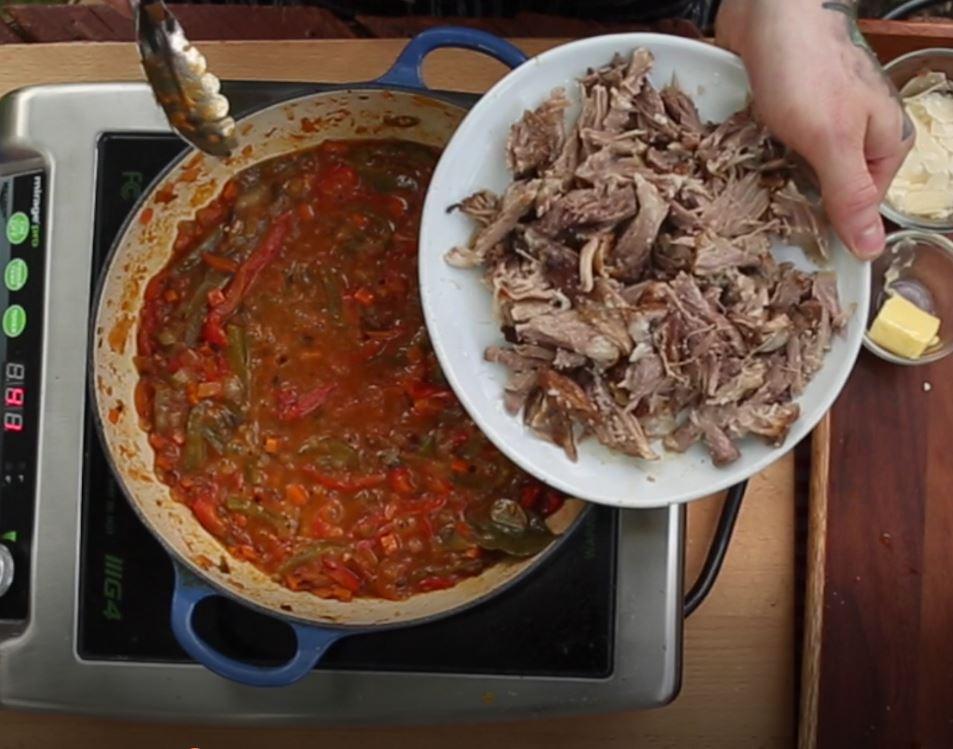Peperonata Ready for Meat