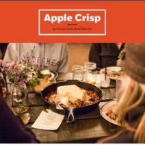 Camp Apple Crisp