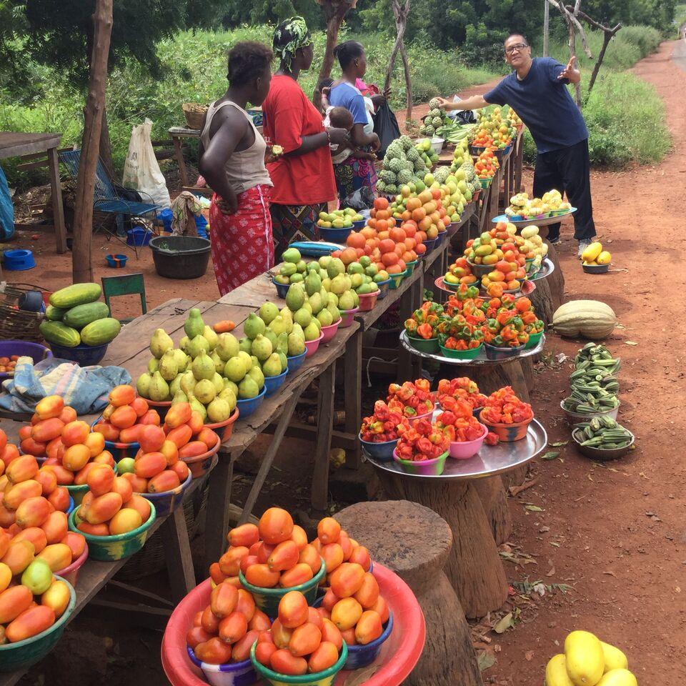Bougouni Roadside Market