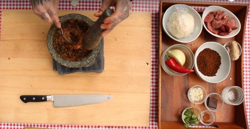 mortar & pestle ingredients