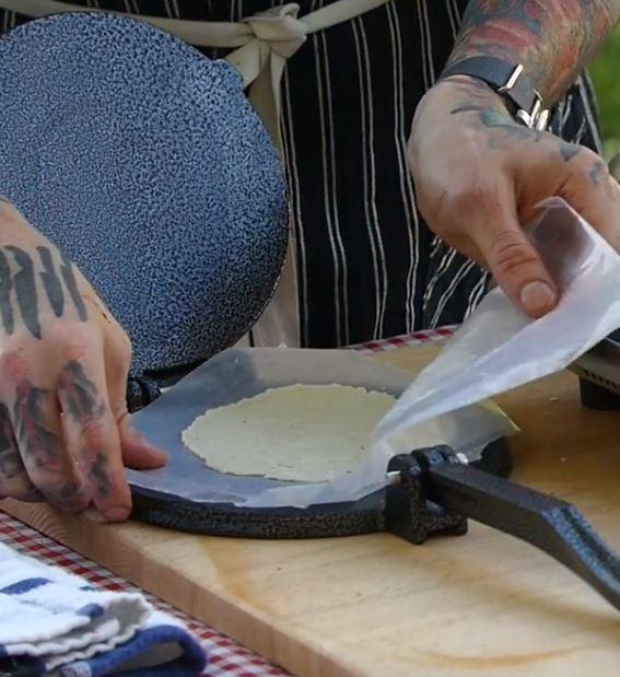 Flattening Tortillas