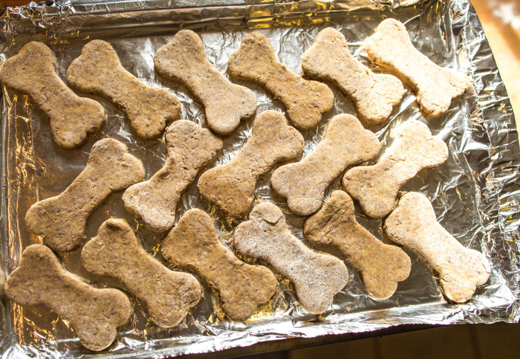 Arrange on cookie sheet
