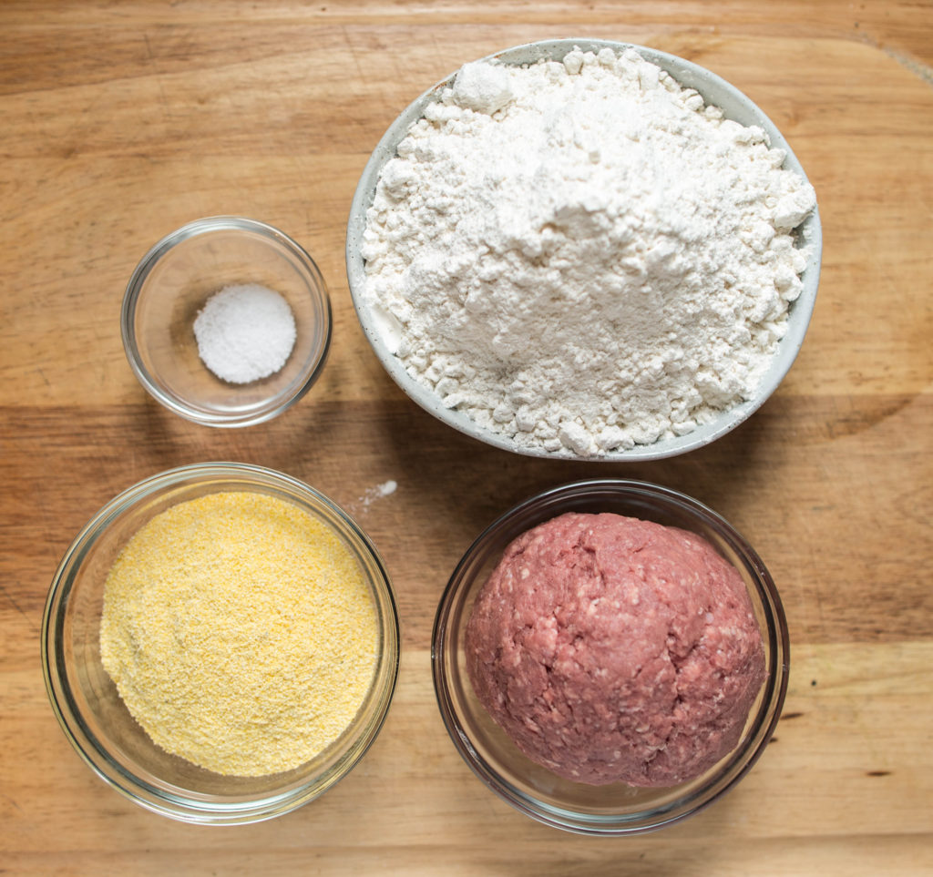 Baked lamb biscuit ingredients