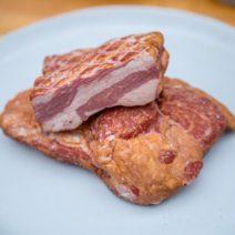Lamb Bacon Slab