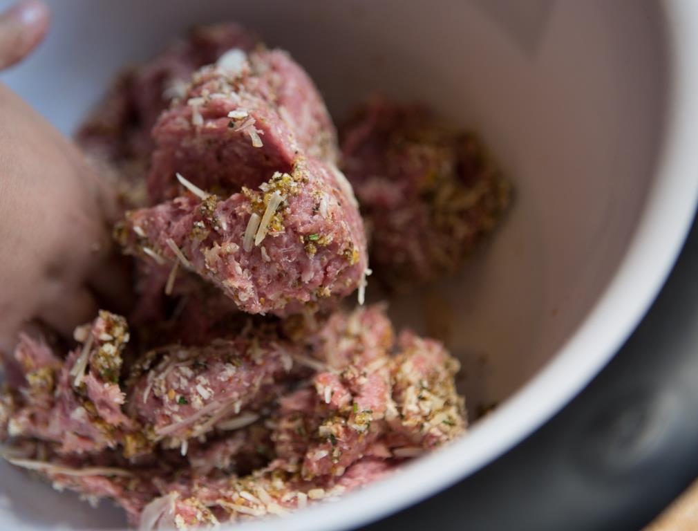 Ground Goat Prep Meatballs