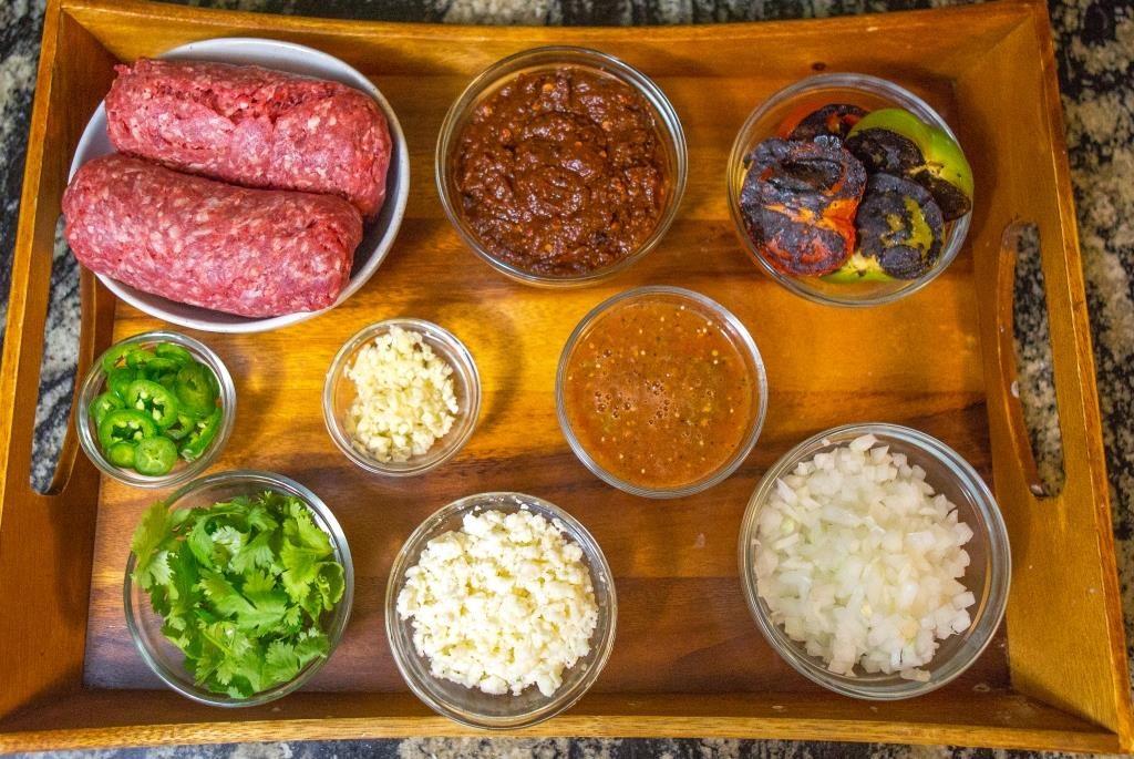 Taco Ingredient Display