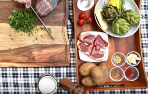 Goat Loin Chop Ingredients