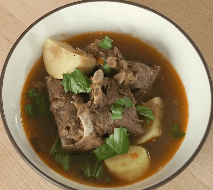 Nigerian Style Bone-in Goat Meat Pepper Soup | Goat Meat