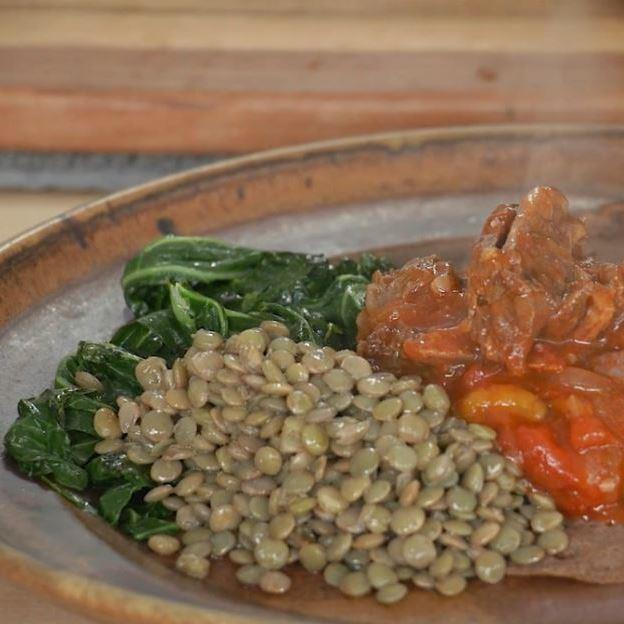 Lamb or Goat Neck with East African Berbere Spices