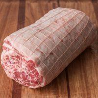 Lamb loin roast rolled