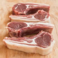 goat rib chops grass fed