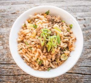 Grass Fed Lamb Liver Dirty Rice