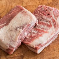 Boneless grass fed lamb shortribs
