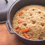 Grass fed lamb or goat plov recipe