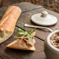 Lamb or goat rillettes recipe