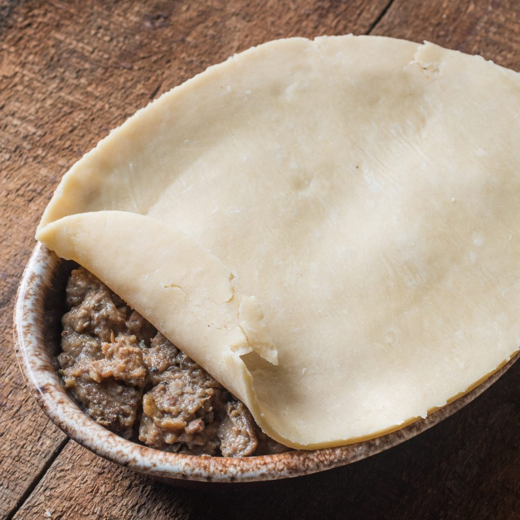 Lamb or Goat Steak and Kidney Pie (8)
