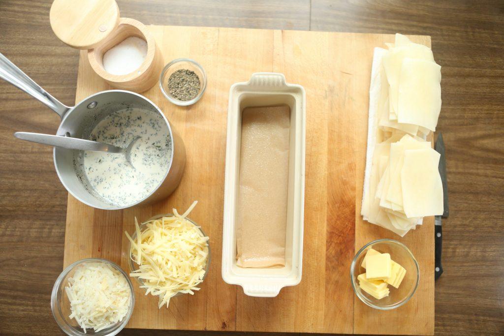 Grass fed lamb chops with potato pave and charmoula recipe