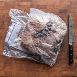 how to dry age grass fed mutton