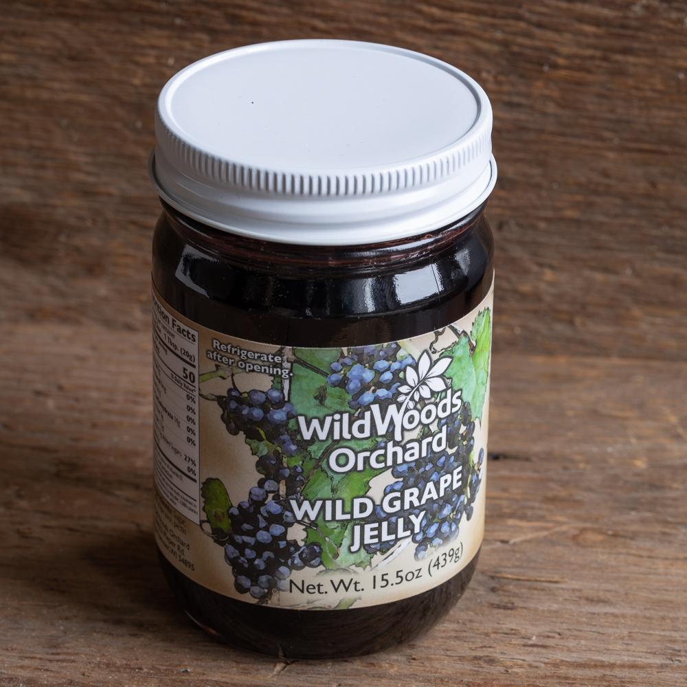 Wild Woods Orchard Wild Grape Jelly