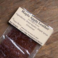 Maple apple leather
