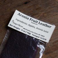Aronia Fruit Leather