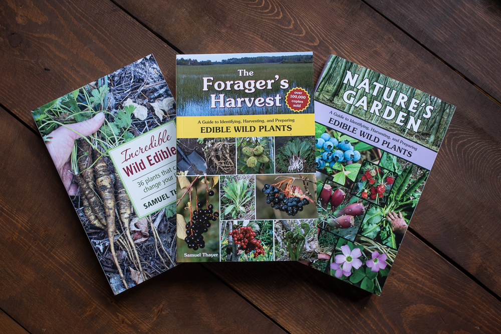 All three foraging books by Samuel Thayer