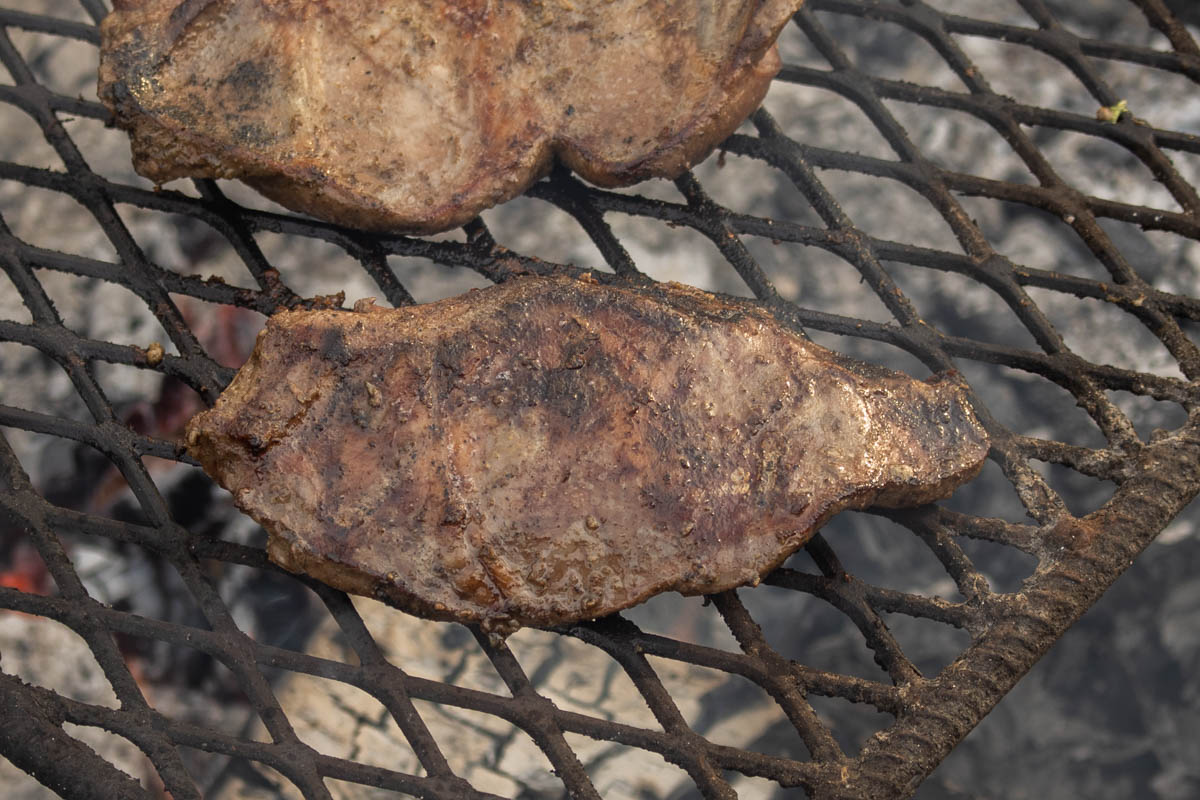 Marinated, Grilled Lamb Heart (3)