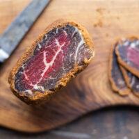 Mutton, lamb or goat bastirma or pastirma recipe